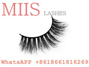 clear band mink 3D lashes
